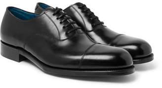 Grenson Gresham Cap-Toe Leather Oxford Shoes