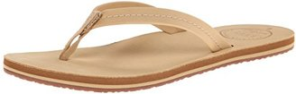Reef Women's Chill Leather Flip Flop $28.15 thestylecure.com