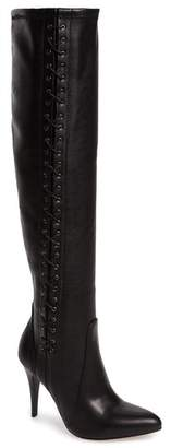 Charles David Kastell Knee High Laced Boot