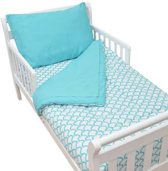 T.L.Care Tl Care TL Care Percale 4-pc. Toddler Bed Set