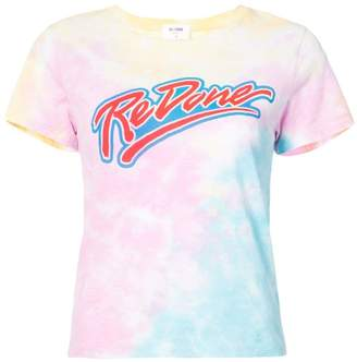 RE/DONE logo graphic T-shirt