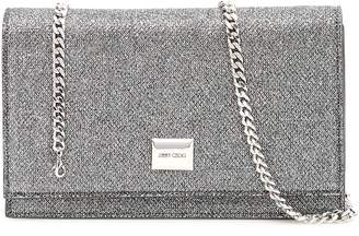 Jimmy Choo Lizzie Chain Strap Clutch Bag