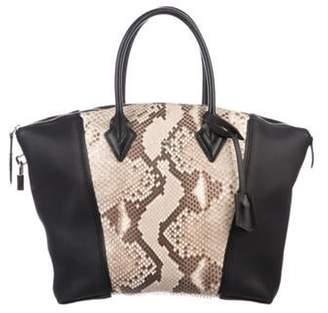 Louis Vuitton Python Soft Lockit PM Black Python Soft Lockit PM