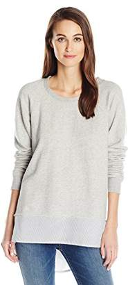 Wilt Women's Big Sweatshirt Shirting Mix