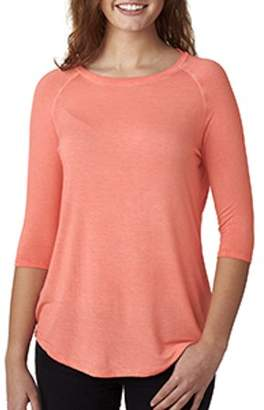 Oasis J America Ladies' Wash 3/4-Sleeve T-Shirt