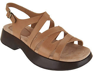Dansko Leather Multi-Strap Sandals - Lolita