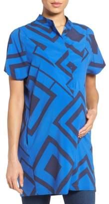 Loyal Hana 'Erin' Print Maternity/Nursing Shirtdress