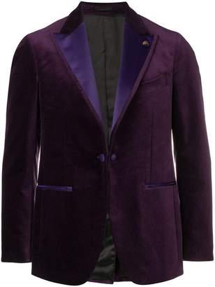 Gabriele Pasini velvet evening blazer