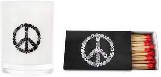 XELA Aroma Iconic Peace Ember Candle & Match Set (14OZ) (2 PC)