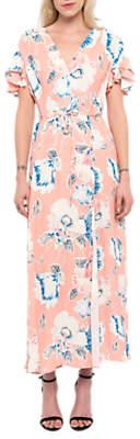 French Connection Cari Crepe Midi Tea Dress