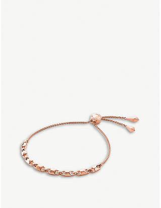 Michael Kors Mercer Link rose gold-plated chain bracelet