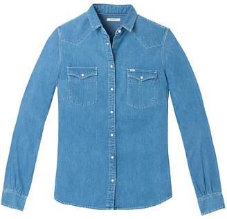 Lee Long-Sleeved Light Denim Shirt