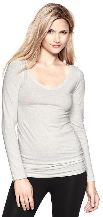 Gap Pure Body open V-neck tunic