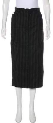 Alexander Wang Virgin Wool Midi Skirt
