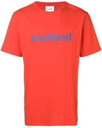 Soulland logo print T-shirt