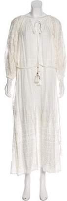 Mes Demoiselles Printed Maxi Dress w/ Tags