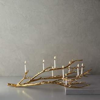 west elm Manzanita Candelabra - Gold