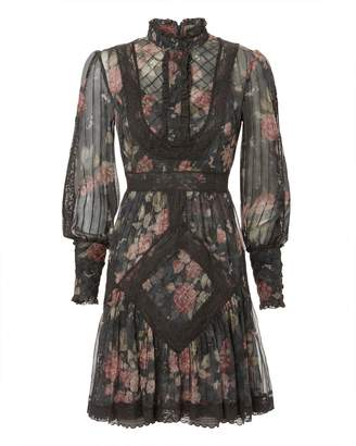 Zimmermann Unbridled Tucked Mini Dress