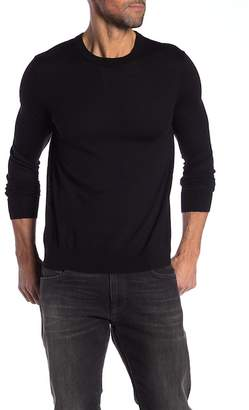 Theory Long Sleeve Pullover Wool Sweater