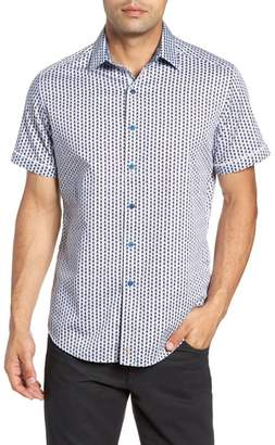 Robert Graham Westward Classic Fit Stripe Sport Shirt