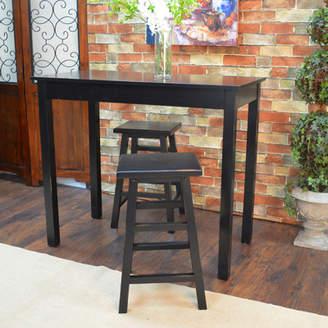 Beachcrest Home Waquoit 3 Piece Pub Table Set