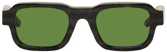 Enfants Riches Deprimes Tortoiseshell and Green Thierry Lasry Edition The Isolar 2 Sunglasses