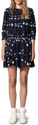 Zadig & Voltaire Rooka Dot-Print Short Dress