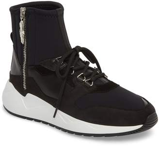 Buscemi Run1 Zip High Top Sneaker