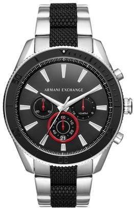 Armani Exchange Chronograph Bracelet Watch, 46mm