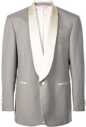 Gucci satin lapel tuxedo jacket