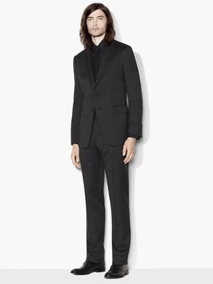 Hampton Micro Check Suit $1,898 thestylecure.com