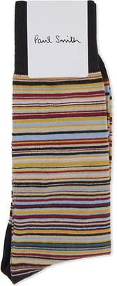 Paul Smith Mens Black Vibrant Socks