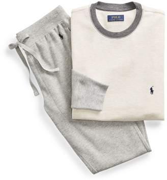 Ralph Lauren Waffle T-Shirt & Jogger Set