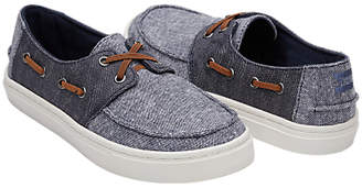 Toms Children's Culver Casual Shoes, Denim Blue