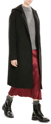 DKNY Hooded Coat $849 thestylecure.com