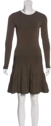 Barbara Bui A-Line Mini Dress Olive A-Line Mini Dress