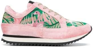 Charlotte Olympia Work It! Flamingo sneakers
