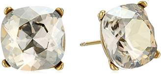 Cara Swarovski Crystal Single Stone Stud Earrings