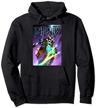 Marvel Infinity Fighting Gauntlet's Fist Graphic Hoodie