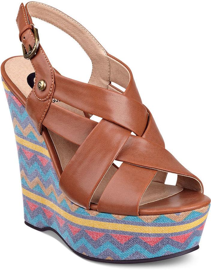 G by Guess Women's Shoes, Havana Platform Wedge Sandals