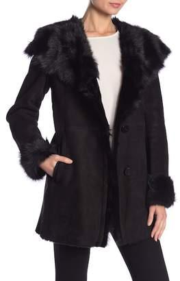 Blue Duck Toscana Genuine Sheepskin Fur Fitted Jacket