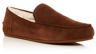 Vince Men's Gino Suede & Shearling Slippers