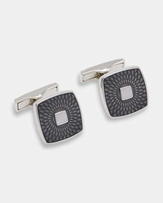 Ted Baker MINAM Engraved enamel cufflinks