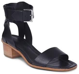 Whistles Lennox Cuff Block Heel Sandals