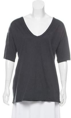 Marni Cutout Short Sleeve Top