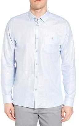 Ted Baker Linlitt Cotton & Linen Sport Shirt