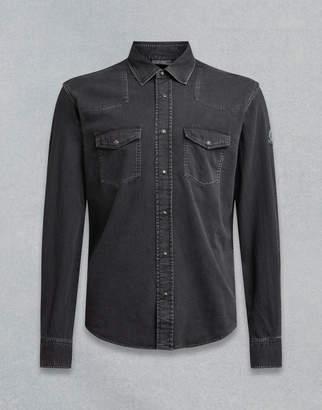 Belstaff Somerford Shirt Black