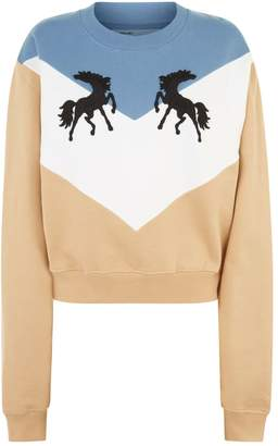 Off-White Off White Twisting Horses Sweater