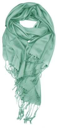 6th Borough Boutique Mint Pashmina Scarf