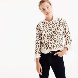 J.Crew Leopard sweatshirt